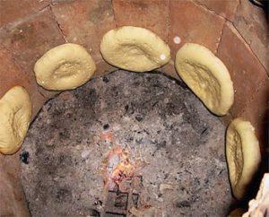 лепешки из тандыра