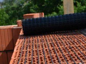 применение композитной кладочной сетки