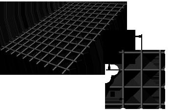 размеры сетки кладочной