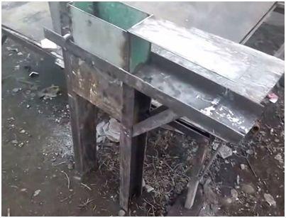 Бункер из листов стали