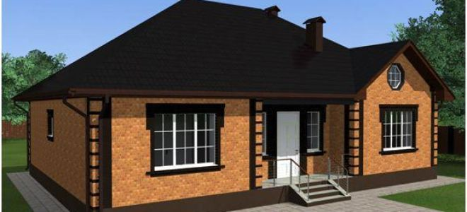 Основные этапы строительства и преимущества проектов одноэтажных домов из кирпича