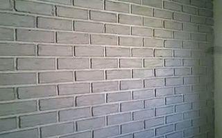 Нестандартный и оригинальный вид интерьера с помощью отделки стен под кирпичную кладку