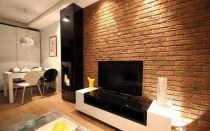Преимущества, виды и способы монтажа панелей для стен под кирпич для внутренней отделки.