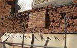 Как своими руками восстановить кирпич : причины деформаций кирпичных стен и методы их устранения
