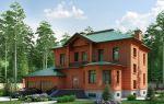 Планировка проектов коттеджей из кирпича, плюсы и минусы кирпичных домов