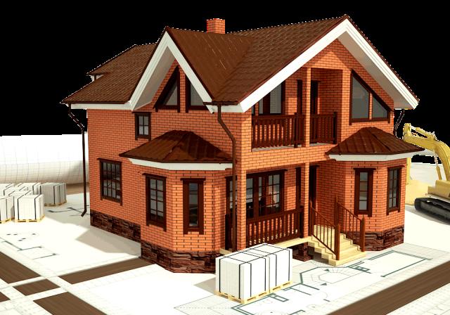 Как строят кирпичные дома